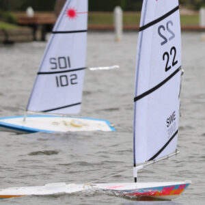 RC-Laser, båtar
